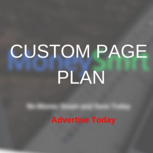 Custom Page Plan